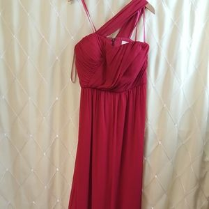 Formal one strapped maxi dress